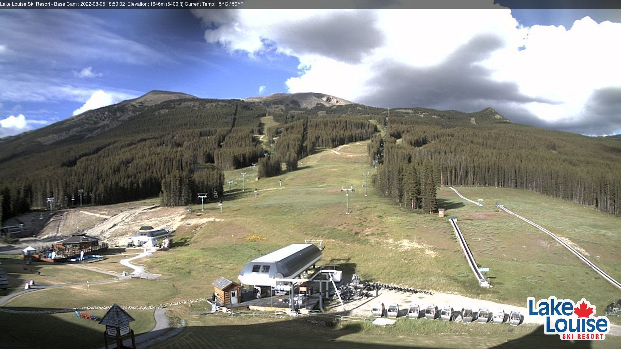 Lake Louise Ski Resort Base Area