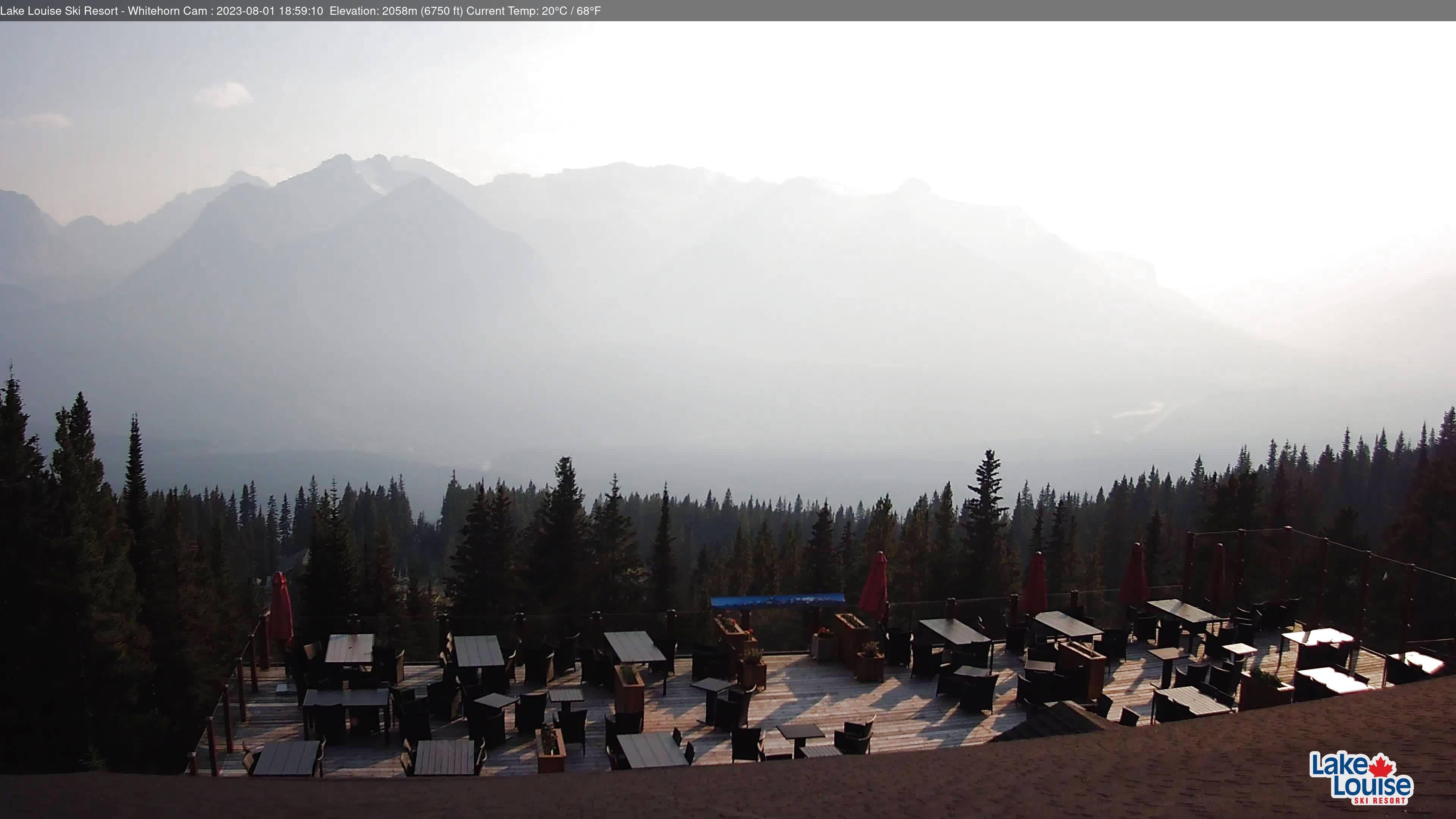Webcam en Whitehorn Lodge, Lake Louise (Canadá)